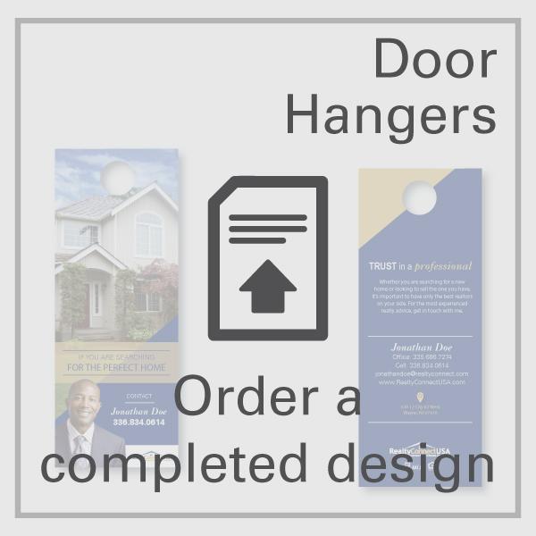 Design Your Own Door Hangers: Door Hangers – Order Completed Design